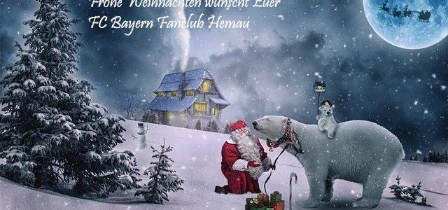 Fc Bayern Wünscht Frohe Weihnachten.Frohe Weihnachten Und Alles Gute Für 2018 Fc Bayern Fanclub Hemau
