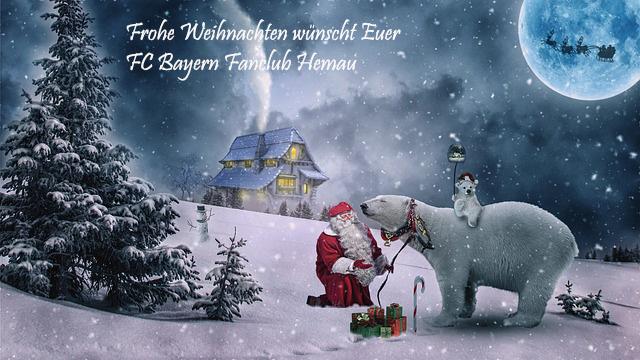 Alles Gute Zum Weihnachten.Frohe Weihnachten Und Alles Gute Fur 2018 Fc Bayern